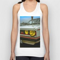 volkswagen Tank Tops featuring Volkswagen Golf Vintage by Eduard Leasa Photography