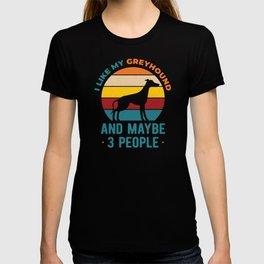 I Like My Funny Greyhound T-shirt