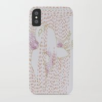 falcon iPhone & iPod Cases featuring Falcon by Julia Walters Illustration
