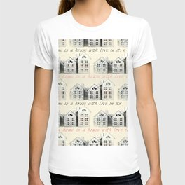 Tin Plate Houses T-shirt