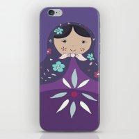 russian iPhone & iPod Skins featuring RUSSIAN DOLLS by Monika Strigel