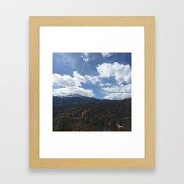 Pikes Peak Framed Art Print