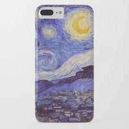 Vincent Van Gogh Starry Night iPhone Case