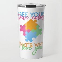 Autism Colors v1.0 Travel Mug