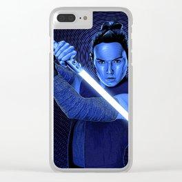 StarWars   The Last Jedi   Rey Clear iPhone Case