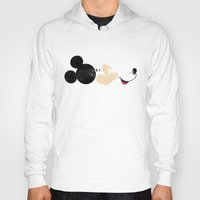 mickey Hoodies featuring Deconstructing Mickey by ErDavid