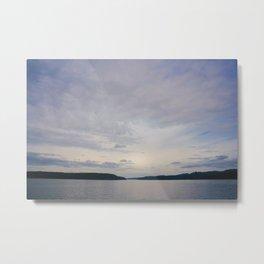 Puget Sound Sky Metal Print