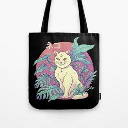 Vapor Cat Tote Bag