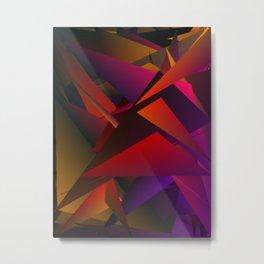 Smoke Screen Abstract 1 Metal Print