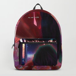 Empower Your Frequency - Femme Inspiration Woman Powa Drawing Backpack