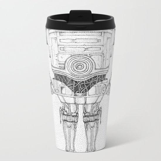 R2 3PO Metal Travel Mug