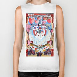 Love is all you need Biker Tank