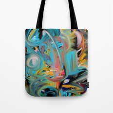 The Storm Abstract Expressionism Art Tote Bag