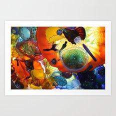 Beautiful Colors Art Print