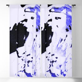 Ice Pack Blue Wave Blackout Curtain