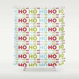 Ho Ho Ho Merry Christmas Shower Curtain