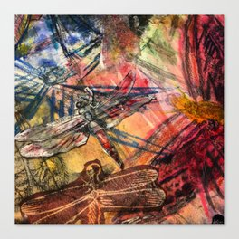 Dragonfly Lifted  Canvas Print