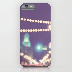 Sparkle No.2. downtown Los Angeles at night photograph iPhone 6s Slim Case