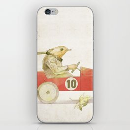 Bird runner iPhone Skin