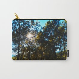 Sun Peeking Through Trees Carry-All Pouch