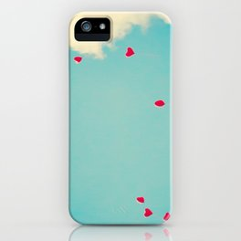 Red Dots Of Love iPhone Case