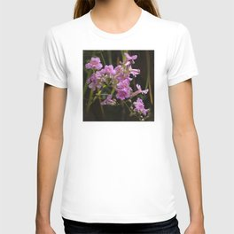 Pink Fairy Dust Tropical Wild Flowers T-shirt