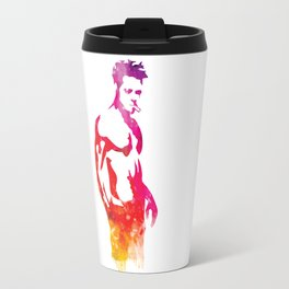 Tyler Durden Fight Stance Travel Mug