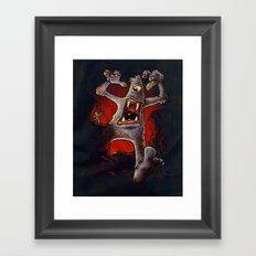 Monster! Framed Art Print