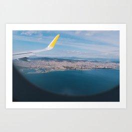 Barcelona Flyover Art Print