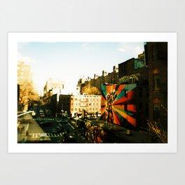 Uncolor My Life Art Print