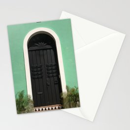Old San Juan Door Stationery Cards