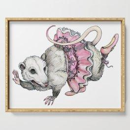 'Possum en Pointe Serving Tray