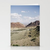 utah Stationery Cards featuring .utah by Philip Schulte