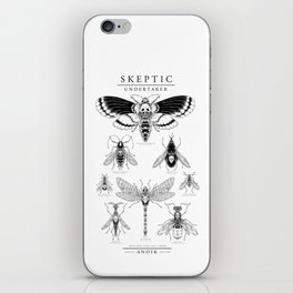 ANOIK Skeptic on Undertaker iPhone Skin