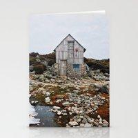 hiking Stationery Cards featuring Hiking Tasmania by Dan Grady