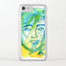 him Clear iPhone Case