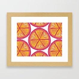 summer squeeze Framed Art Print