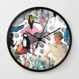 Collage I Wall Clock