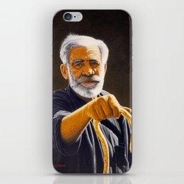 Portrait of Cretan man iPhone Skin
