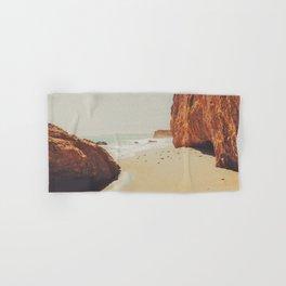 Beach Day - Ocean, Coast - Landscape Nature Photography Hand & Bath Towel
