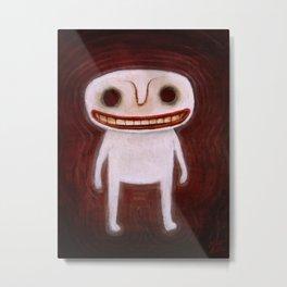 Smily Ghost Metal Print