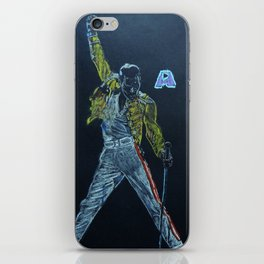 Freddie & Mercury A kind of Magic Tribute iPhone Skin
