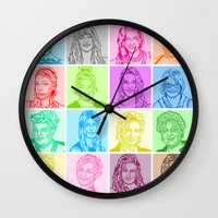 glee Wall Clocks featuring Glee by ONEX8