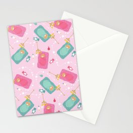 The baby blanket Stationery Cards