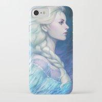 frozen iPhone & iPod Cases featuring Frozen by Artgerm™