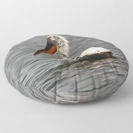 The Sea Breeze Blows The Pelican Where He Wants To Go Floor Pillow