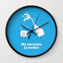 Leche Wall Clock
