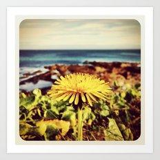 Dandelion - Instagram Art Print