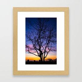 Keep Climbin' Kiddo Framed Art Print