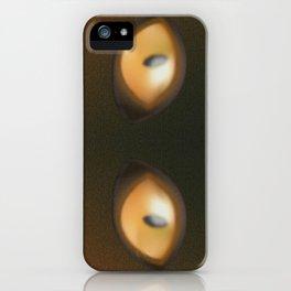 Eye, yellow eye, yellow eyes, yellow, eyes iPhone Case